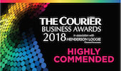 The Courier Business Awards 2018 Highly Commended Best Small Business