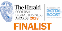The Herald Scottish Digital Business Awards 2018 Finalist